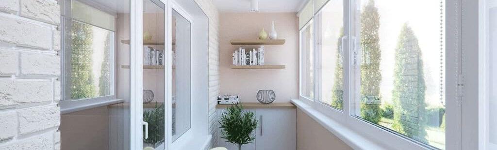Внутренняя отделка балконов - балконы лоджии окна.